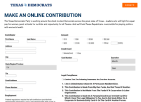 act.txdemocrats.org