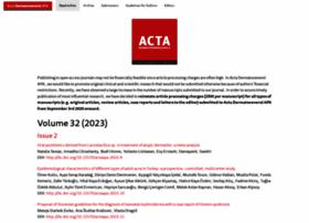 acta-apa.org