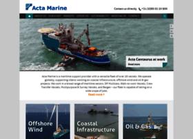 actamarine.com