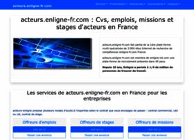 acteurs.enligne-fr.com