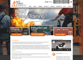actfirstsafety.ca