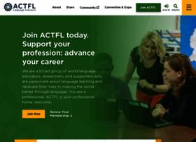 actfl.org