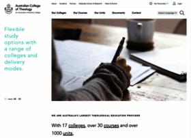actheology.edu.au