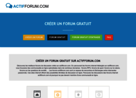 actifforum.com
