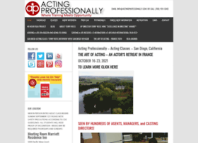 actingprofessionally.com