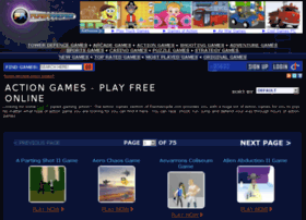 action-games.flasharcade.com Visit site