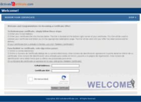 activatecertificate.com