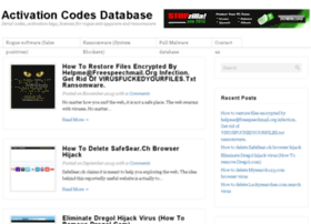activationcodes-database.com