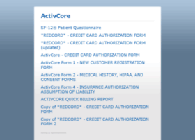 activcore.medforward.com