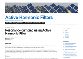 activeharmonicfilter.wordpress.com