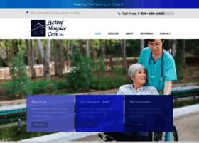activehospicecare.com
