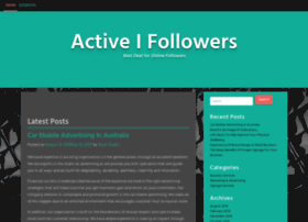 activeifollowers.com