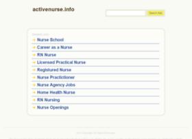 activenurse.info