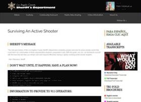 activeshooter.lasd.org