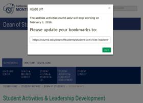 activities.csumb.edu