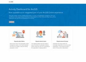 activitydashboard.arcgis.com