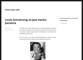 actonjazzcafe.com