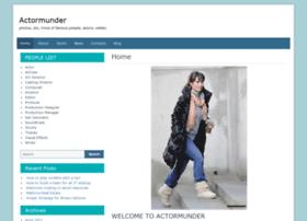 actormunder.com