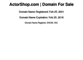 actorshop.com