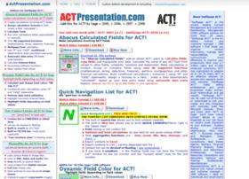 actpresentation.com