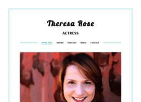 actresstheresarose.com