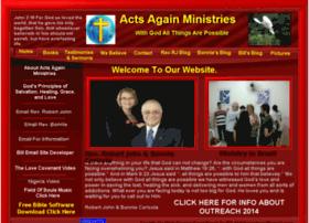 actsagainministries.org