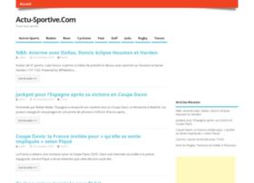 actu-sportive.com