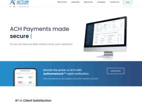 actumprocessing.com