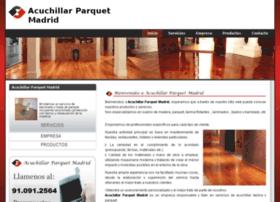 acuchillarparquetmadrid.com
