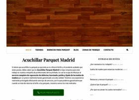 acuchillarparquetmadrid.es