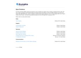 acumatica.hiringz.com