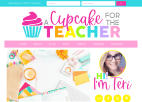 acupcakefortheteacher.com