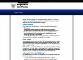 acupunctureclinicwebsites.com