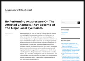 acupunctureonlineschool.com