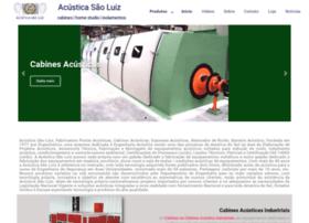 acusticasaoluiz.com.br