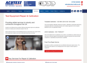 acutestrepaircalibration.co.uk