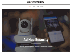 ad-hocsecurity.com