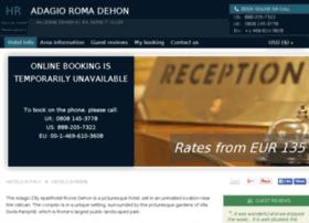 adagio-city-hotel-rome.h-rsv.com