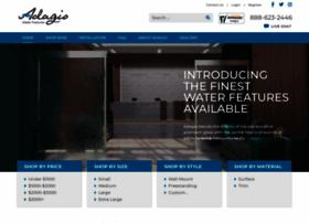 adagiowaterfeatures.com
