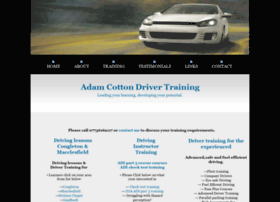 adamcottondrivertraining.co.uk