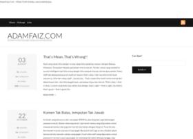 adamfaiz.com