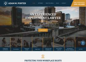 adamporterlaw.com