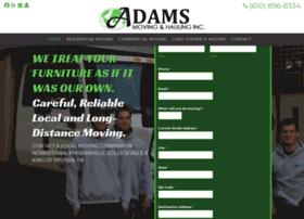 adamsmoving.com