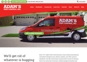 adamspestcontrol.com