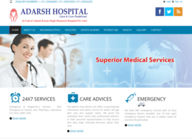 adarshhospitals.in