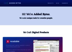 addedbytes.com
