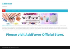 addfavor.com