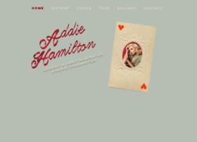 addiehamiltonmusic.com