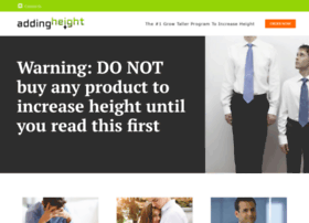 addingheight.com