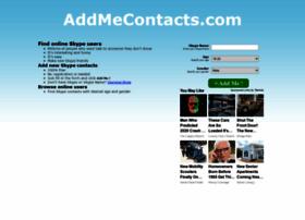addmecontacts.com